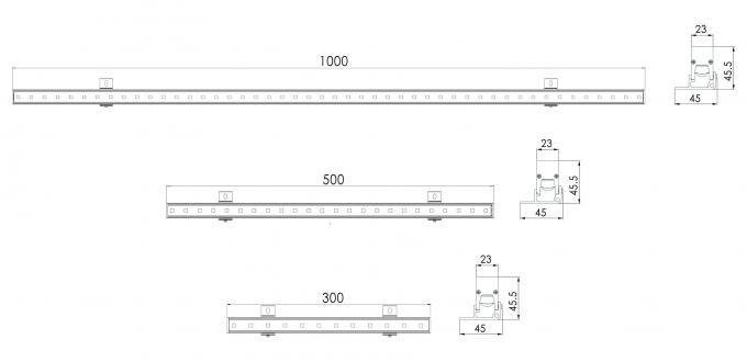 IP65 12W RGB External Wall Washer Lights 2