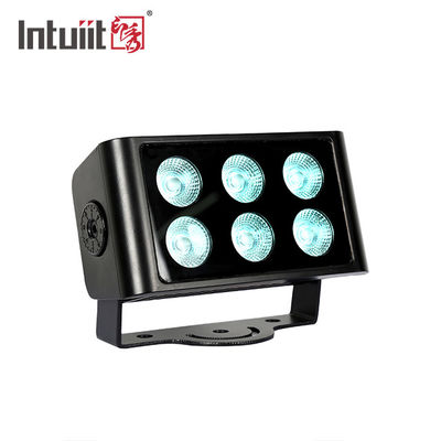 Compact Housing 6 × 5W RGBW 4 In 1 LED Stage Light